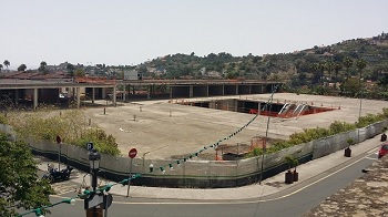 Imagen de las obras del centro comercial