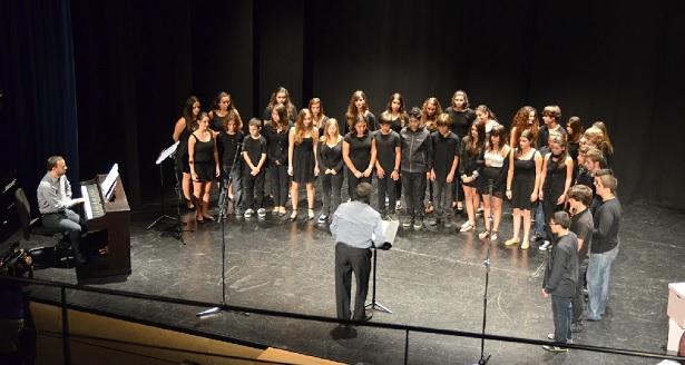 Imagen de archivo de un coro en plena actuación