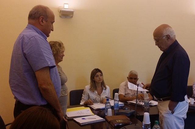 Incorporación de Daniel López como concejal