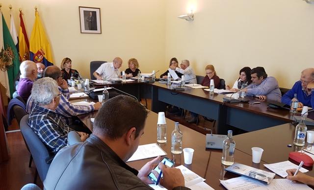 Un aspecto del Pleno