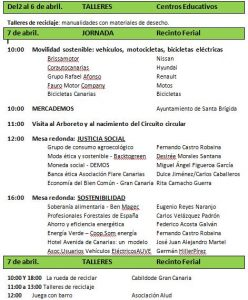 Programa de las III Jornadas