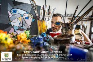 Cartel de la exposición (Foto Javier Plaza)