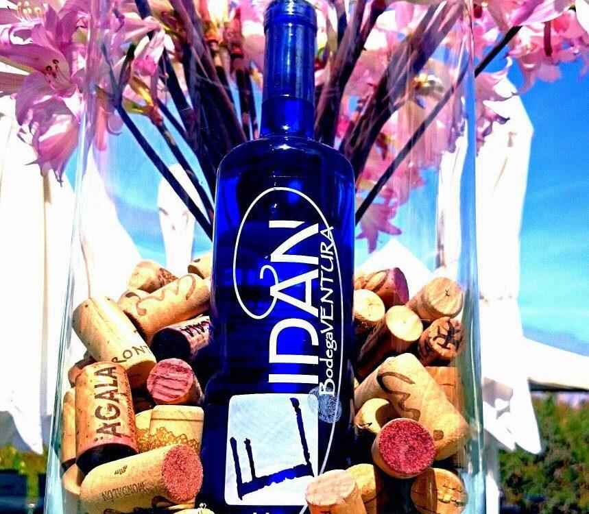 Imagen de un envase de vinos Eidan