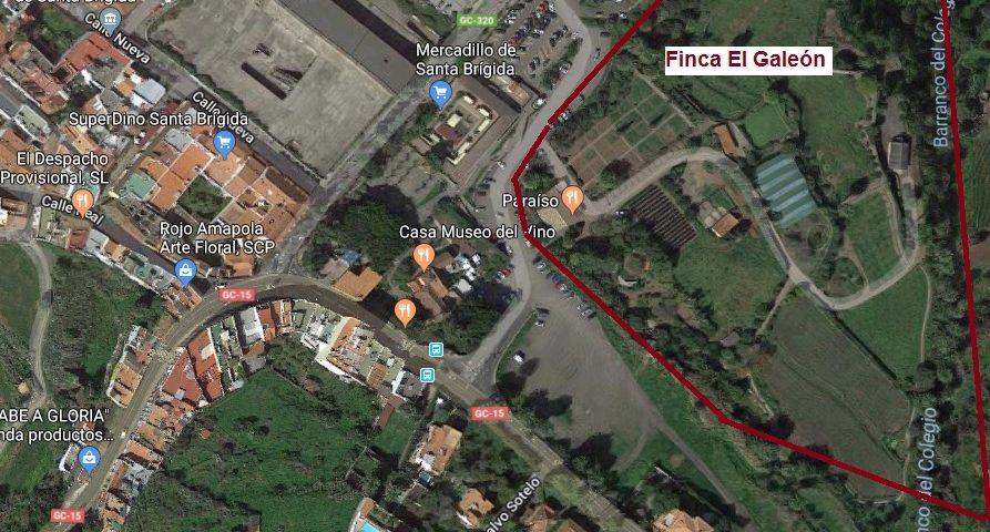 Zona donde se celebrará Jiribilla Primaria
