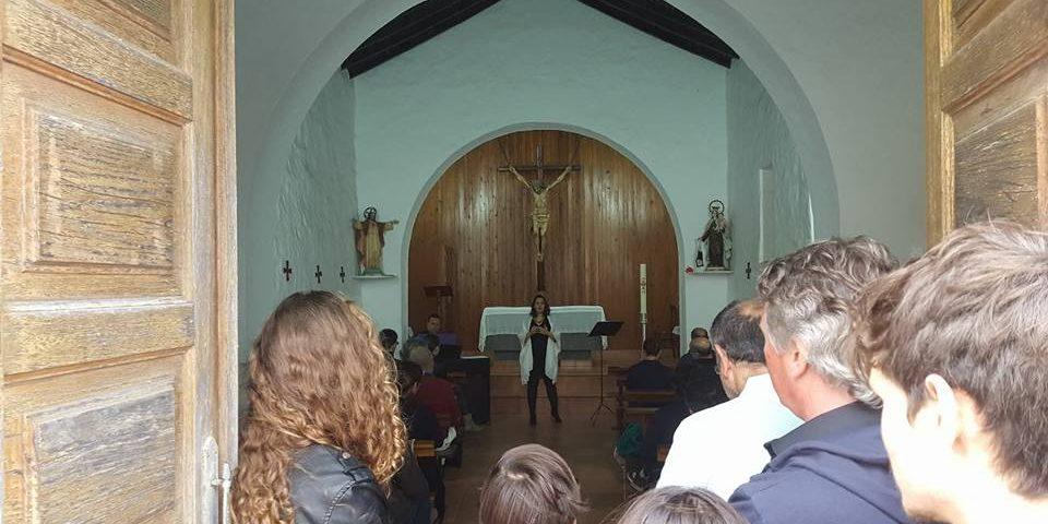 Imagen de archivo de un concierto en la ermita de Bandama