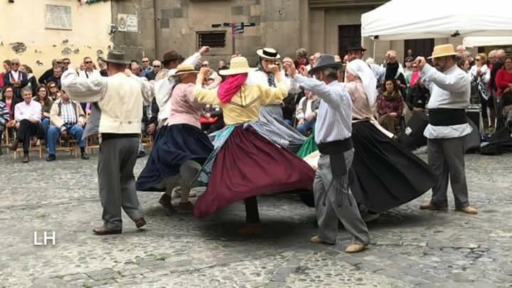 Imagen de una actuación de la Parranda Cono Sur Ahorén, publicada en sus redes sociales