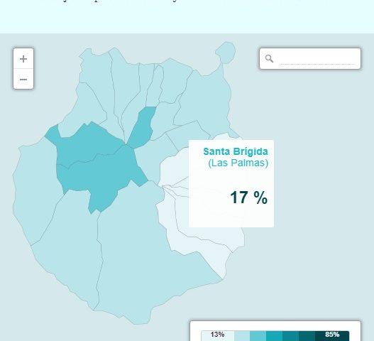 envejecimiento poblaciona en Gran Canaria (Fuente Cinco Días)