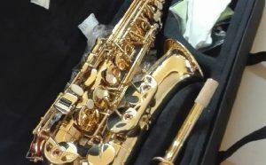 Imagen de un saxofón adquirido para la Escuela Municipal de Música