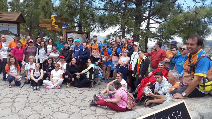 Imagen de los participantes en la excursión