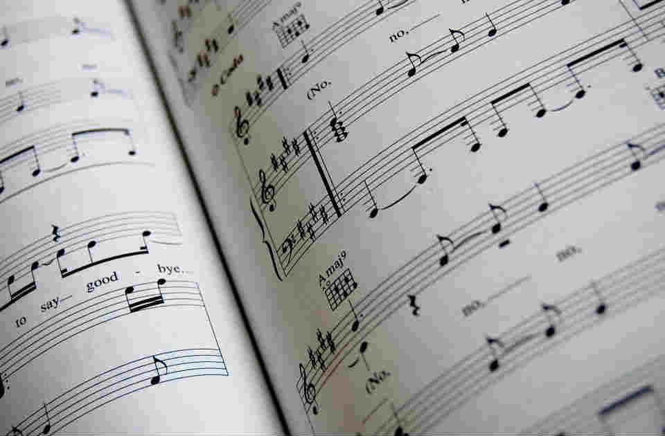 Imagen de una partitura