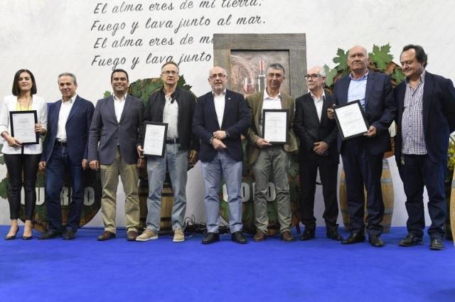 Reconocimientos del Cabildo y la Denominación de Origen Vinos de Gran Canaria