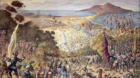 Cuadro de la batalla del Batán