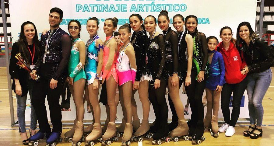 Participantes del club satauteño en el campeonato