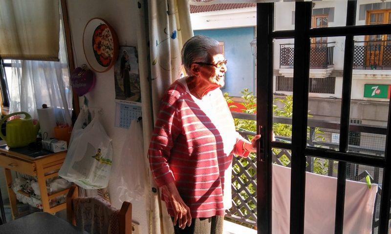 La homenajeada, Gloria Vázquez