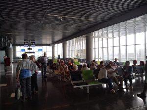 Visita al aeropuerto