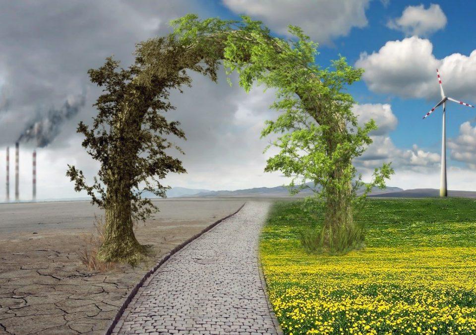 Imagen sobre el cambio climático