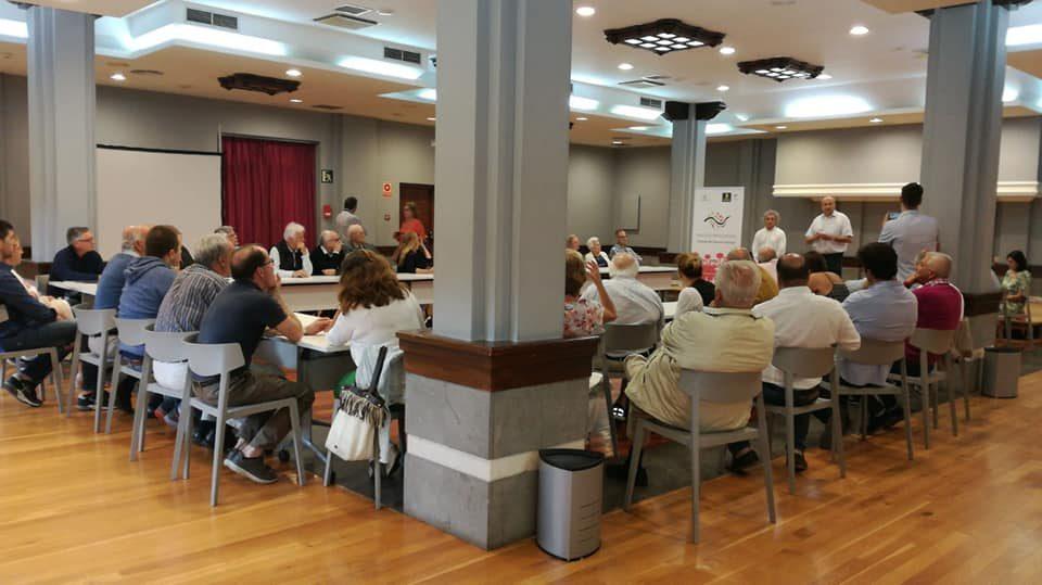 Un aspecto de la reunión del pasado mes de julio