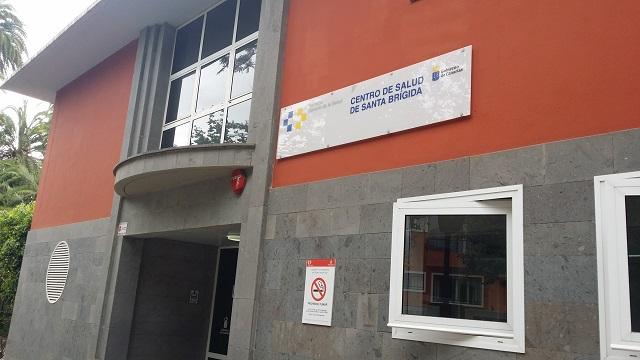 Fachada del Centro de Salud de Santa Brígida