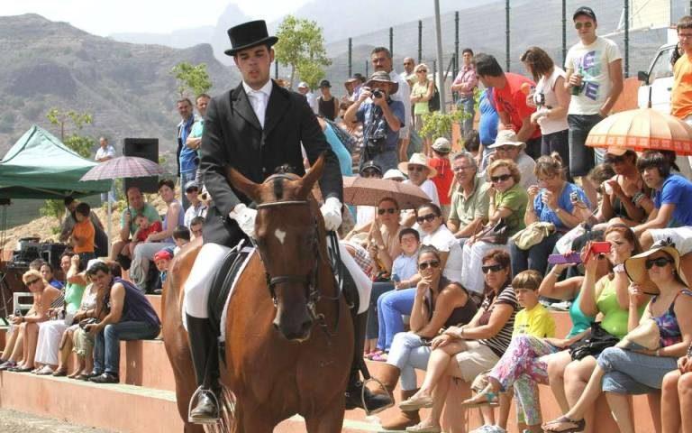 Imagen de archivo del Día del Caballo en Pino Santo Alto