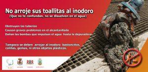 Campaña de la comarca sureste de Gran Canaria contra el vertido de toallitas