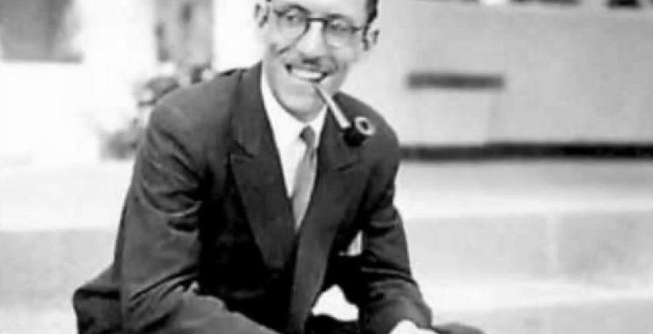 Pedro Lezcano en una fotografía de juventud
