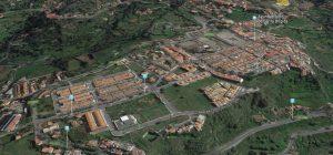 Vista del casco urbano del municipio