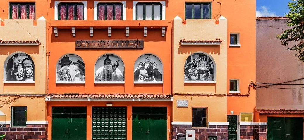 Fachada del Centro Cultural de Santa Brígida