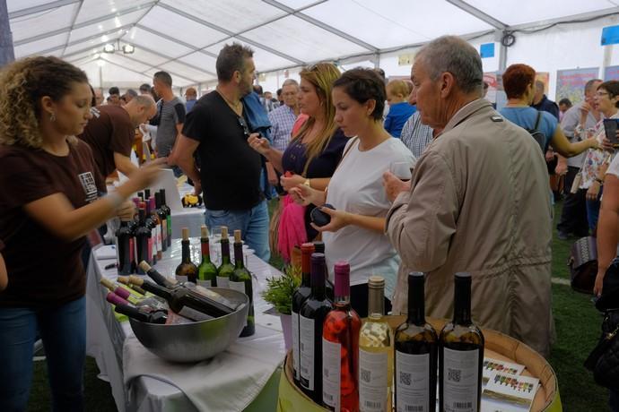 Imagen de archivo de la Feria del Vino, el Queso y la Miel en Santa Brígida