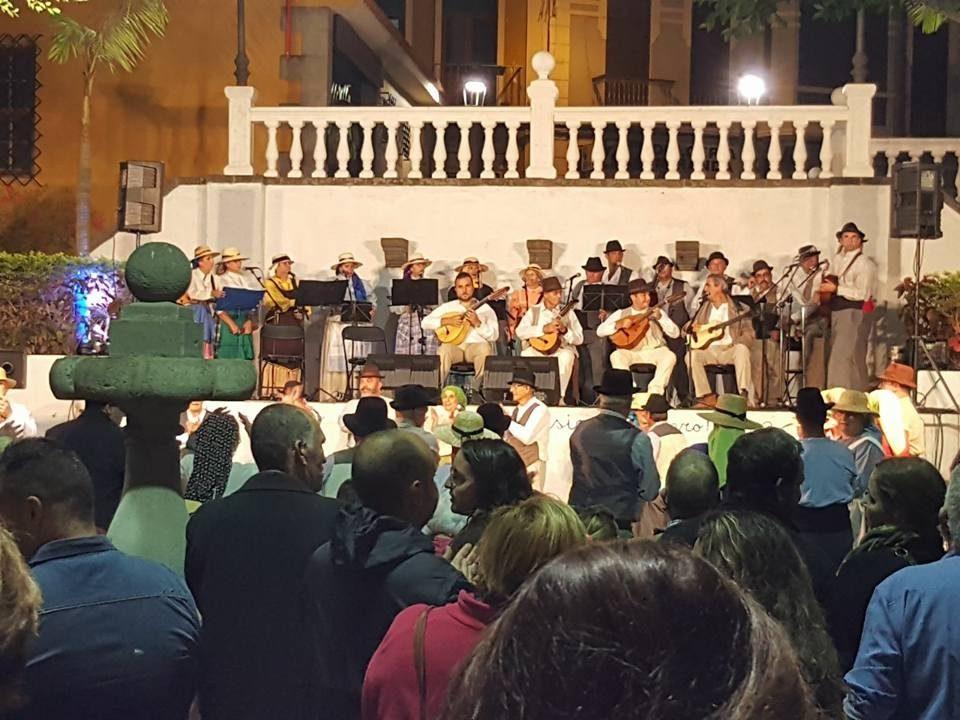Imagen de archivo de una celebración de finaos en el Parque Municipal
