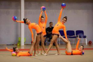 Imagen de gimnastas del Club satauteño