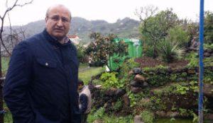 El Alcalde, José Armengol, en una visita a la finca municipal de El Gamonal