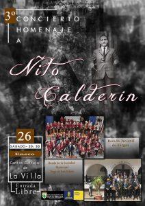 Cartel del III Memorial Ñito Calderín