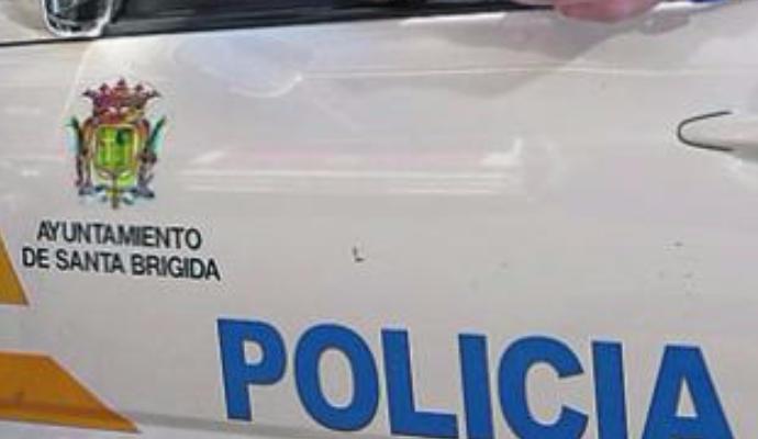 Imagen de un vehículo de la policía de Santa Brígida