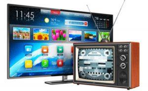 Televisores de dos épocas