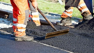Imagen de trabajos de asfaltado