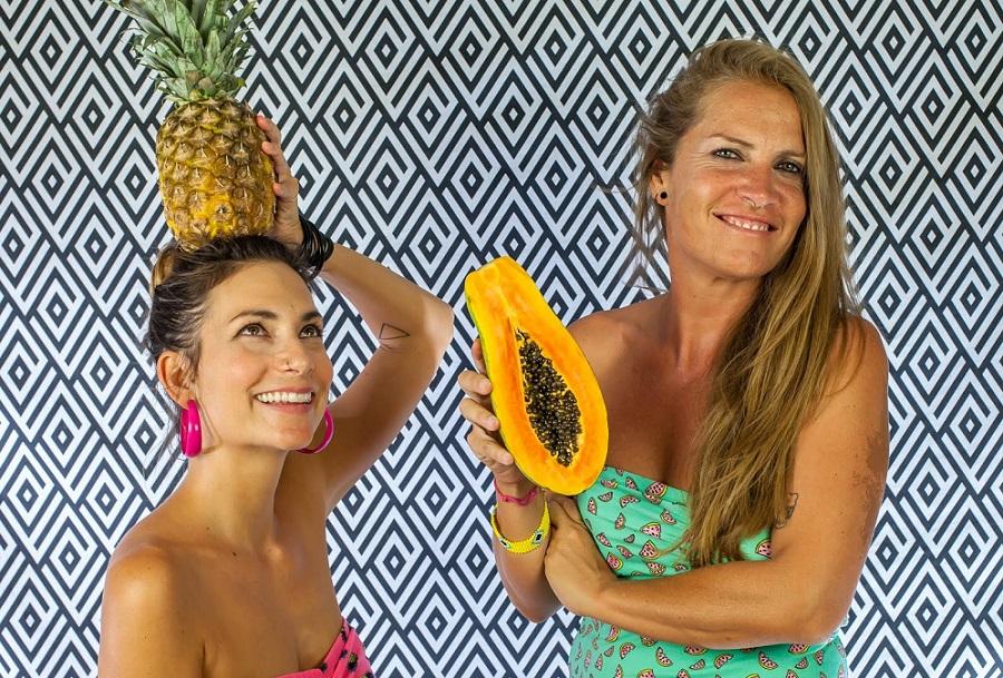 Isabel Duque y Cristina Chinchilla