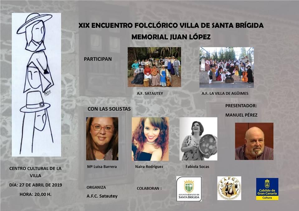 Cartel del XIX Memorial Juan López