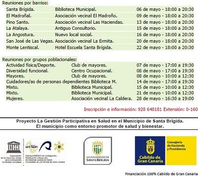 Programa de los encuentros