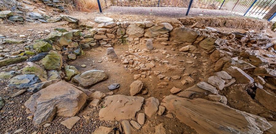 Yacimiento arqueológico en la Villa