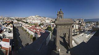 Vista de la ciudad desde la Catedral