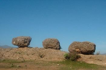 Lugar conocido como Las Tres Piedras