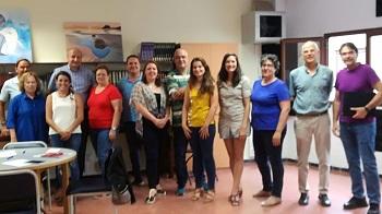 Participantes en los encuentros del proyecto de salud